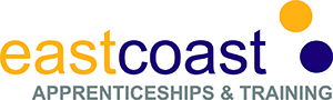 East Coast College Apprenticeships logo goes to Apprenticeships page